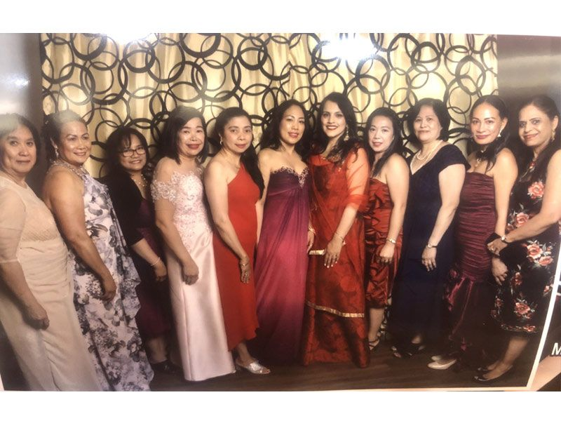 ladies at TFCC of the year awards and heritage gala 2019